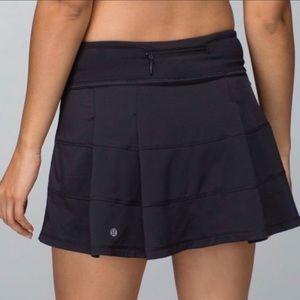 Lululemon Pace Rival Skirt Black